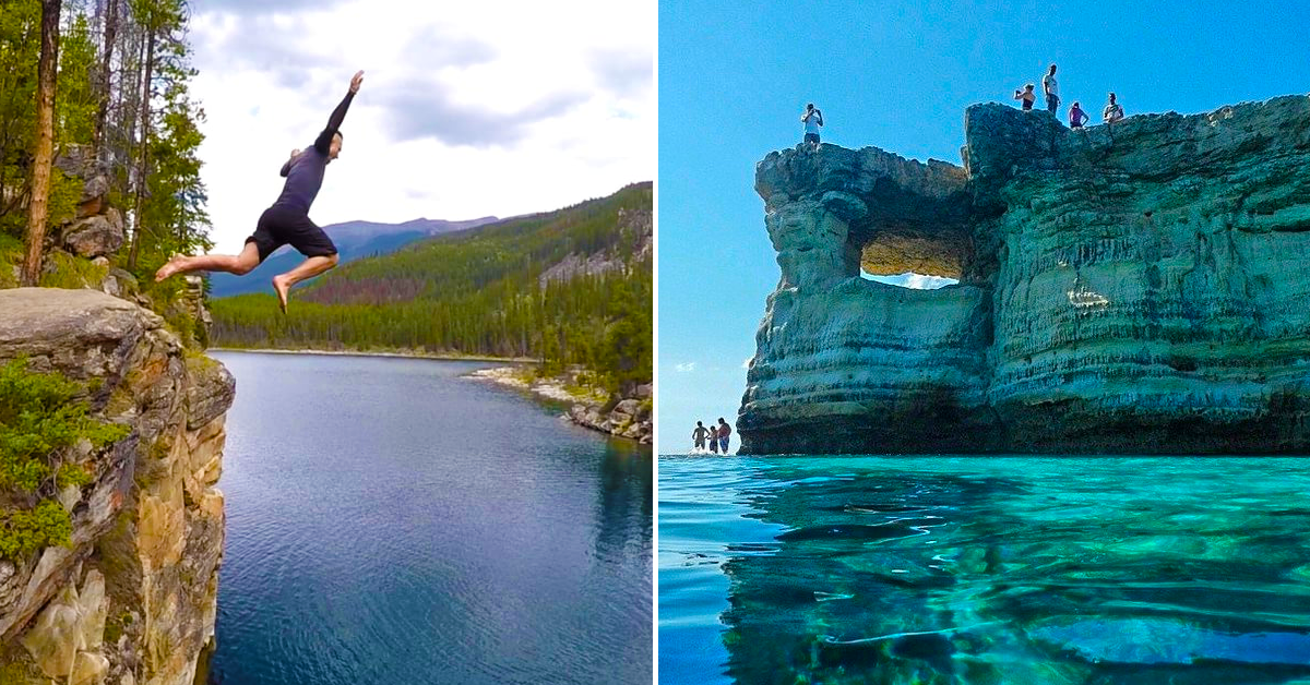 20 Cliff Jumping Spots Around The World Only For The Daring
