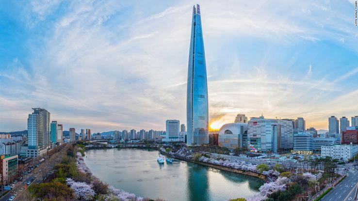 LOTTE WORLD TOWER, SEOUL, SOUTH KOREA