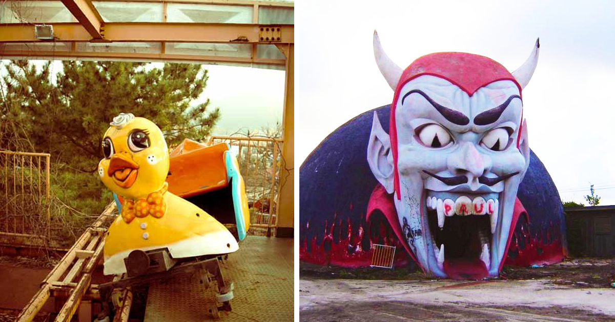 10 Eerie Abandoned Theme Parks Around The World 10 Epic Ones Still In Action