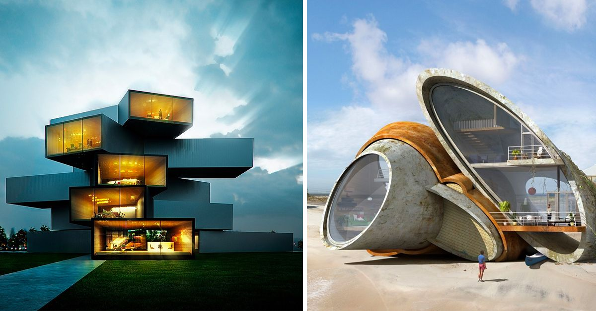 24 Crazy Homes That Look Straight Out Of Year 3000 Thetravel