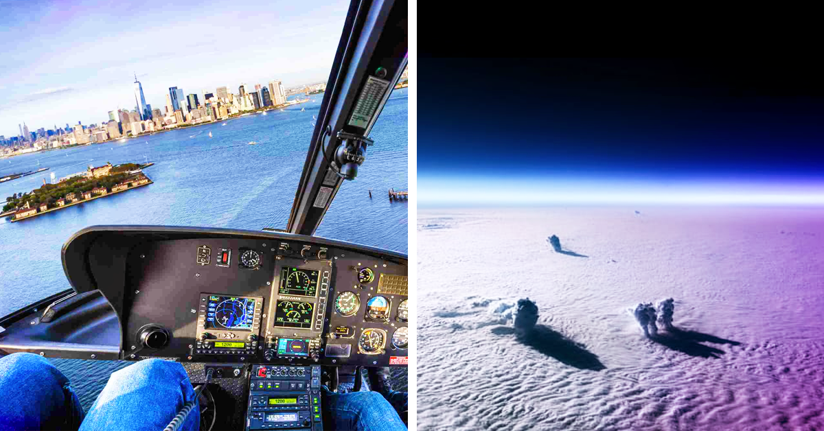 From The Cockpit: 26 Images That Only Pilots Can See (Until Now)