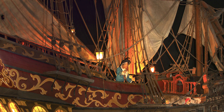 Disney Parks: 10 Things You Didn't Know About The Pirates Of