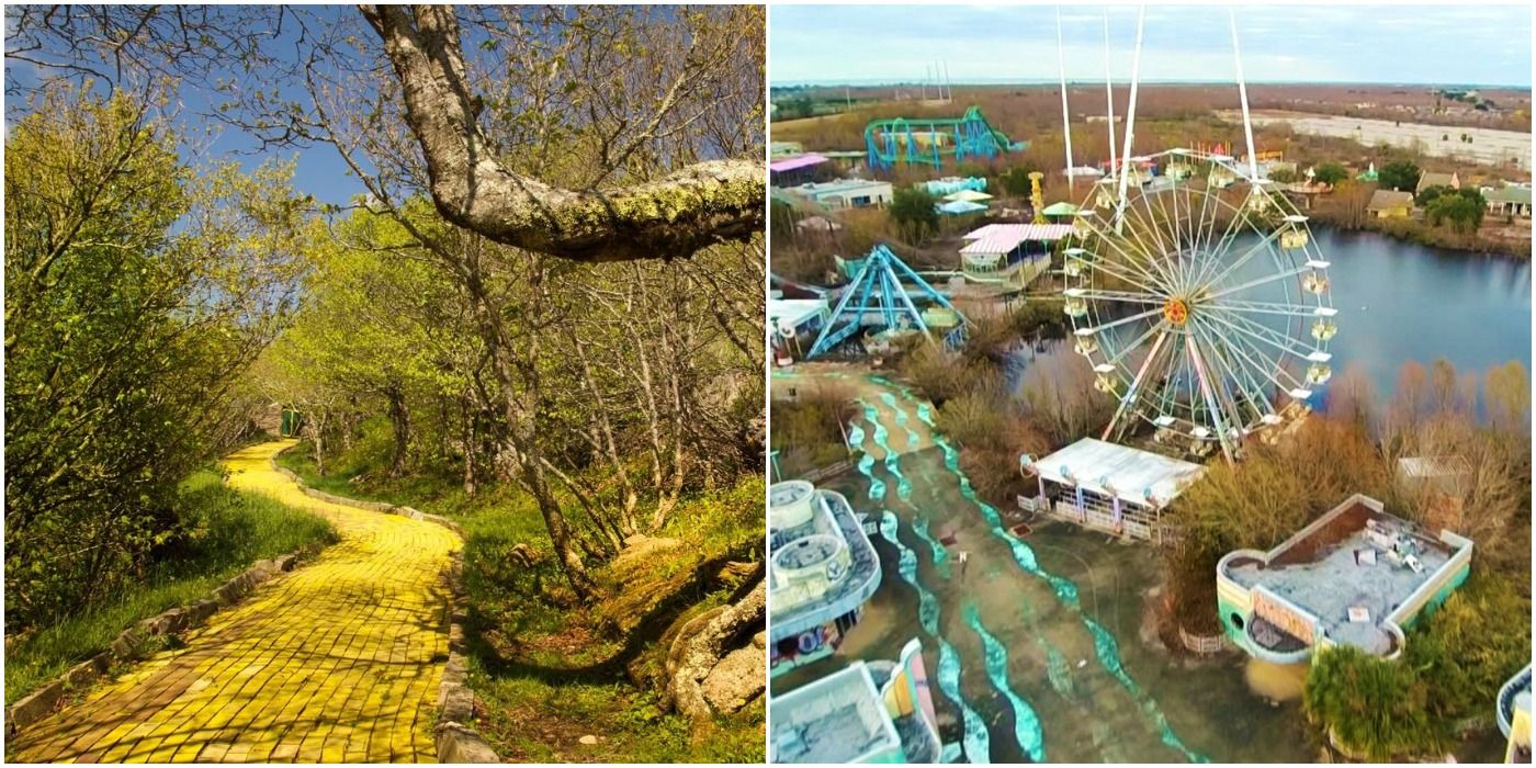 10 Of The Creepiest Abandoned Amusement Parks Across America