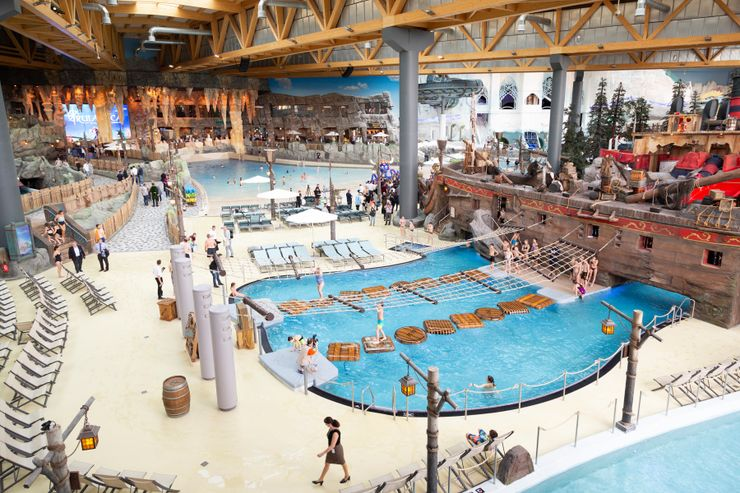 Germany's Got A New Water Park That's The Size Of 5 NFL Fields