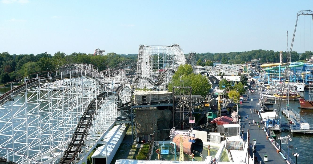 Indiana Beach Is Home To A Boardwalk, Amusement & Water Park