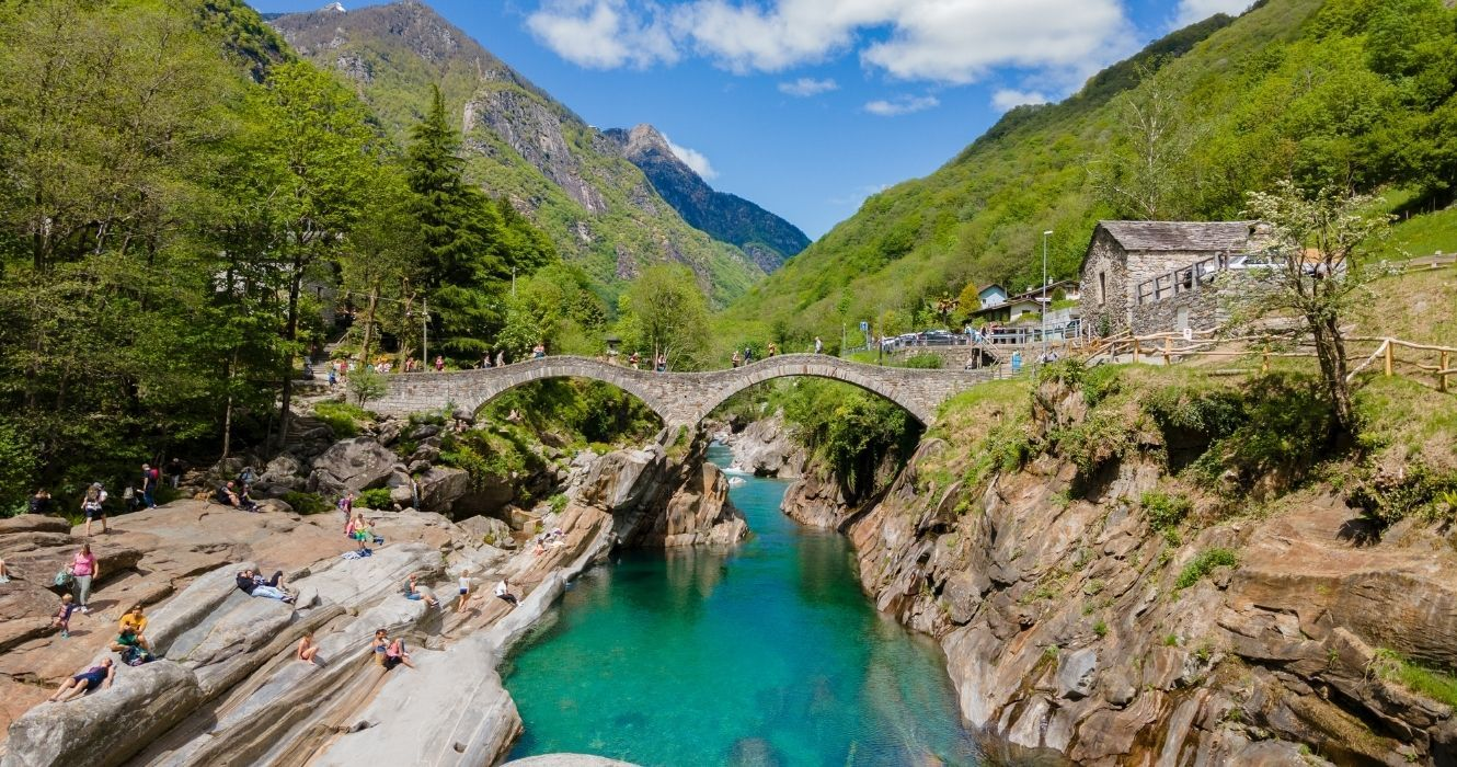 One Of The Most Beautiful Places In Switzerland Can Easily Be Reached From Milan, Italy